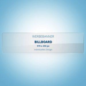Individuelles Design Billboard 970x250px
