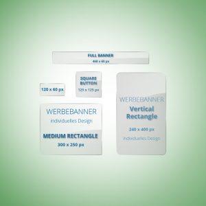 Werbebanner Set Basic individuelles Design gute-internetseite.de