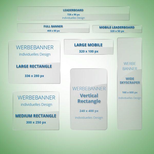 Werbebanner Set Business individuelles Design gute-internetseite.de
